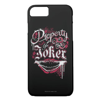 Suicide Squad | Property of Joker iPhone 8/7 Case