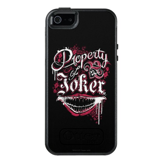 Suicide Squad | Property of Joker OtterBox iPhone 5/5s/SE Case