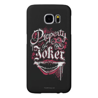 Suicide Squad | Property of Joker Samsung Galaxy S6 Cases