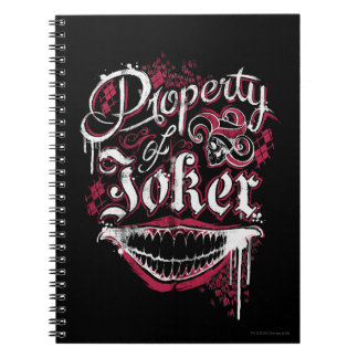 Suicide Squad | Property of Joker Spiral Notebook