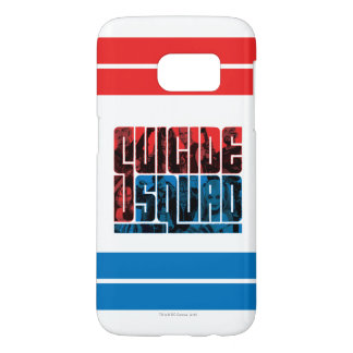 Suicide Squad | Red and Blue Logo