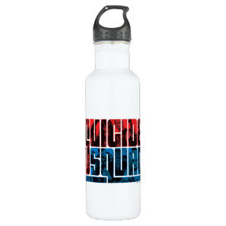 Suicide Squad | Red and Blue Logo 710 Ml Water Bottle