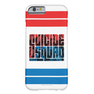 Suicide Squad | Red and Blue Logo Barely There iPhone 6 Case