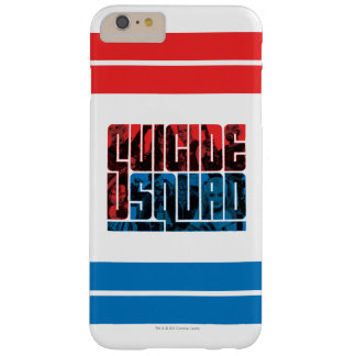 Suicide Squad | Red and Blue Logo Barely There iPhone 6 Plus Case