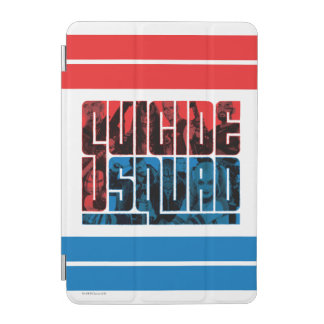 Suicide Squad | Red and Blue Logo iPad Mini Cover