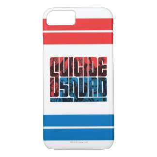 Suicide Squad | Red and Blue Logo iPhone 8/7 Case