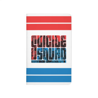 Suicide Squad | Red and Blue Logo Journal