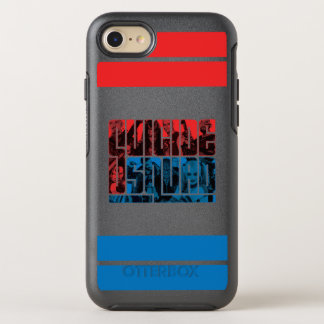 Suicide Squad | Red and Blue Logo OtterBox Symmetry iPhone 8/7 Case
