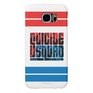 Suicide Squad | Red and Blue Logo Samsung Galaxy S6 Cases