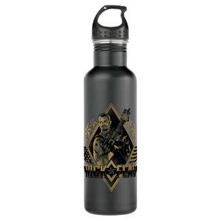Suicide Squad | Rick Flag Badge 710 Ml Water Bottle