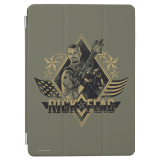 Suicide Squad | Rick Flag Badge iPad Air Cover