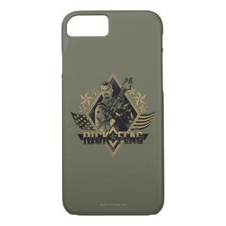 Suicide Squad   Rick Flag Badge iPhone 8/7 Case