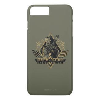 Suicide Squad | Rick Flag Badge iPhone 8 Plus/7 Plus Case