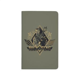 Suicide Squad | Rick Flag Badge Journal