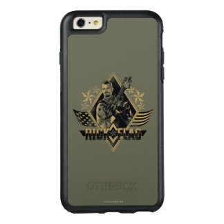 Suicide Squad | Rick Flag Badge OtterBox iPhone 6/6s Plus Case