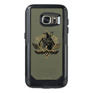 Suicide Squad | Rick Flag Badge OtterBox Samsung Galaxy S7 Case