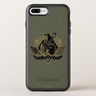 Suicide Squad | Rick Flag Badge OtterBox Symmetry iPhone 8 Plus/7 Plus Case