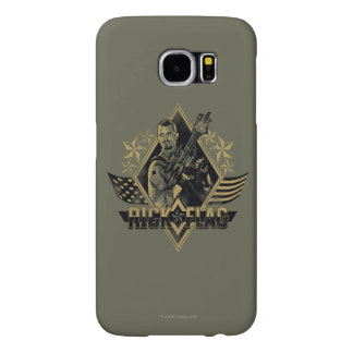 Suicide Squad | Rick Flag Badge Samsung Galaxy S6 Cases