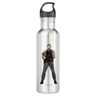 Suicide Squad | Rick Flag Comic Book Art 710 Ml Water Bottle