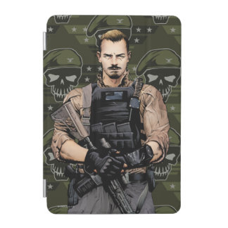 Suicide Squad | Rick Flag Comic Book Art iPad Mini Cover