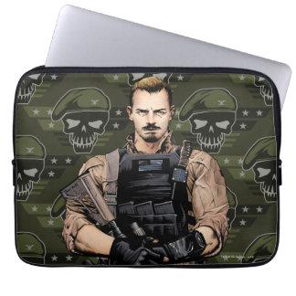 Suicide Squad | Rick Flag Comic Book Art Laptop Sleeve
