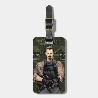 Suicide Squad | Rick Flag Comic Book Art Luggage Tag
