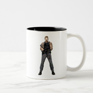 Suicide Squad | Rick Flag Comic Book Art Two-Tone Coffee Mug