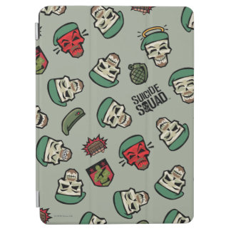 Suicide Squad | Rick Flag Emoji Pattern iPad Air Cover