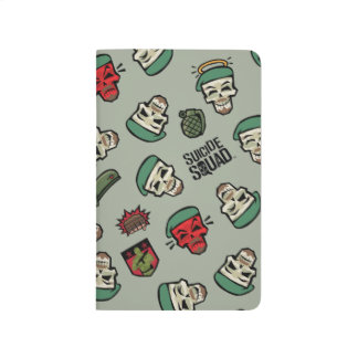 Suicide Squad | Rick Flag Emoji Pattern Journal