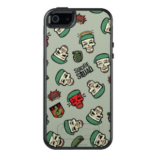 Suicide Squad | Rick Flag Emoji Pattern OtterBox iPhone 5/5s/SE Case
