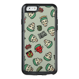 Suicide Squad | Rick Flag Emoji Pattern OtterBox iPhone 6/6s Case
