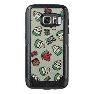 Suicide Squad | Rick Flag Emoji Pattern OtterBox Samsung Galaxy S7 Case