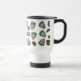 Suicide Squad | Rick Flag Emoji Pattern Travel Mug