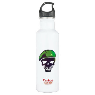 Suicide Squad | Rick Flag Head Icon 710 Ml Water Bottle