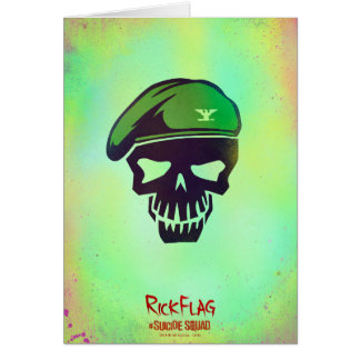 Suicide Squad | Rick Flag Head Icon Card