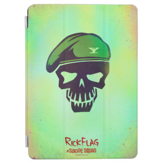 Suicide Squad | Rick Flag Head Icon iPad Air Cover