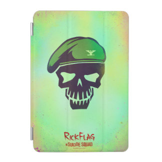 Suicide Squad | Rick Flag Head Icon iPad Mini Cover
