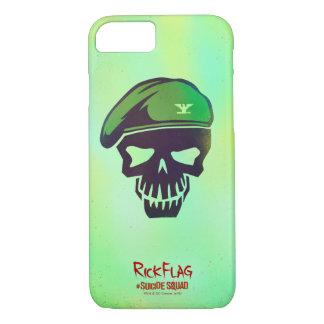 Suicide Squad   Rick Flag Head Icon iPhone 8/7 Case