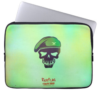 Suicide Squad | Rick Flag Head Icon Laptop Sleeve