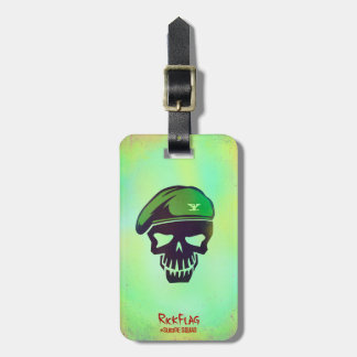 Suicide Squad | Rick Flag Head Icon Luggage Tag