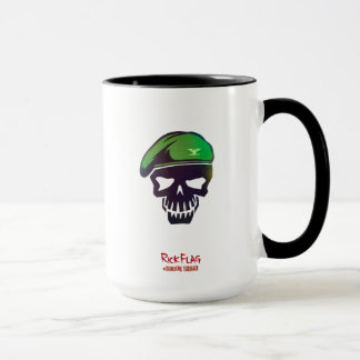 Suicide Squad | Rick Flag Head Icon Mug