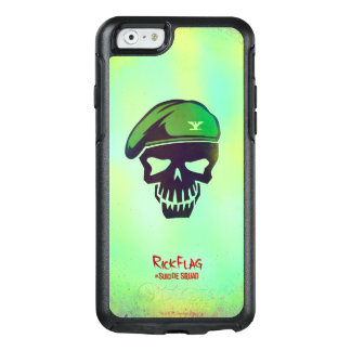 Suicide Squad | Rick Flag Head Icon OtterBox iPhone 6/6s Case