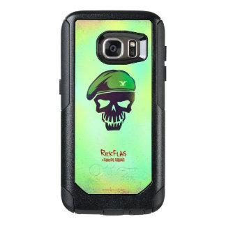 Suicide Squad | Rick Flag Head Icon OtterBox Samsung Galaxy S7 Case