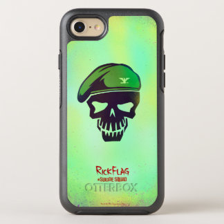 Suicide Squad | Rick Flag Head Icon OtterBox Symmetry iPhone 8/7 Case