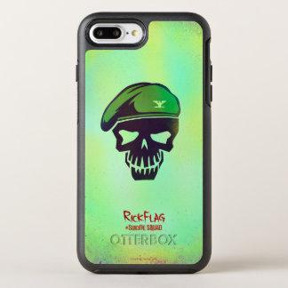 Suicide Squad | Rick Flag Head Icon OtterBox Symmetry iPhone 8 Plus/7 Plus Case