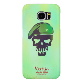 Suicide Squad | Rick Flag Head Icon Samsung Galaxy S6 Cases