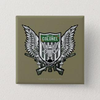 Suicide Squad | Rick Flag Winged Crest Tattoo Art 15 Cm Square Badge