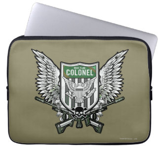 Suicide Squad | Rick Flag Winged Crest Tattoo Art Laptop Sleeve