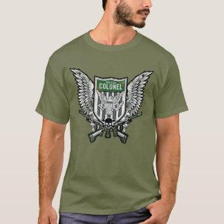 Suicide Squad   Rick Flag Winged Crest Tattoo Art T-Shirt
