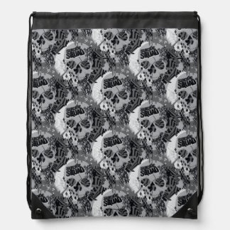 Suicide Squad | Skull Pattern Drawstring Bag